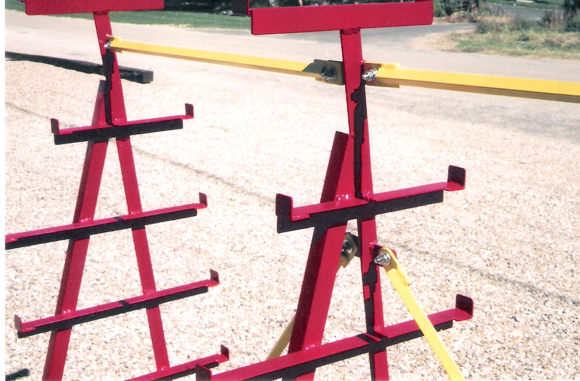 A Closer view of Portable Steel Storage Rack