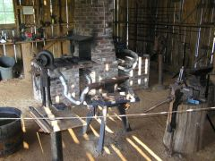 Welcome to Our Community Forge at the Tom Kennon Blacksmith Shop in Donipha