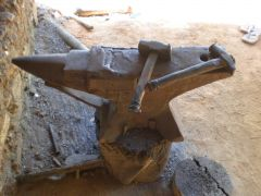 worn anvil