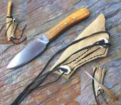 Osage  handled drop point