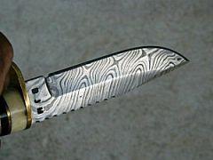 Damascus knife by Billy Merrit
