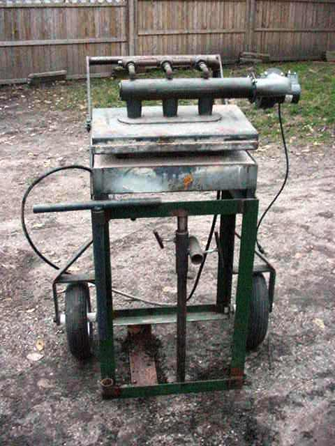 A new (used) gas forge