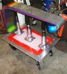 Anvil Stand with Light and Posts