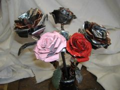 Roses Steel and Copper