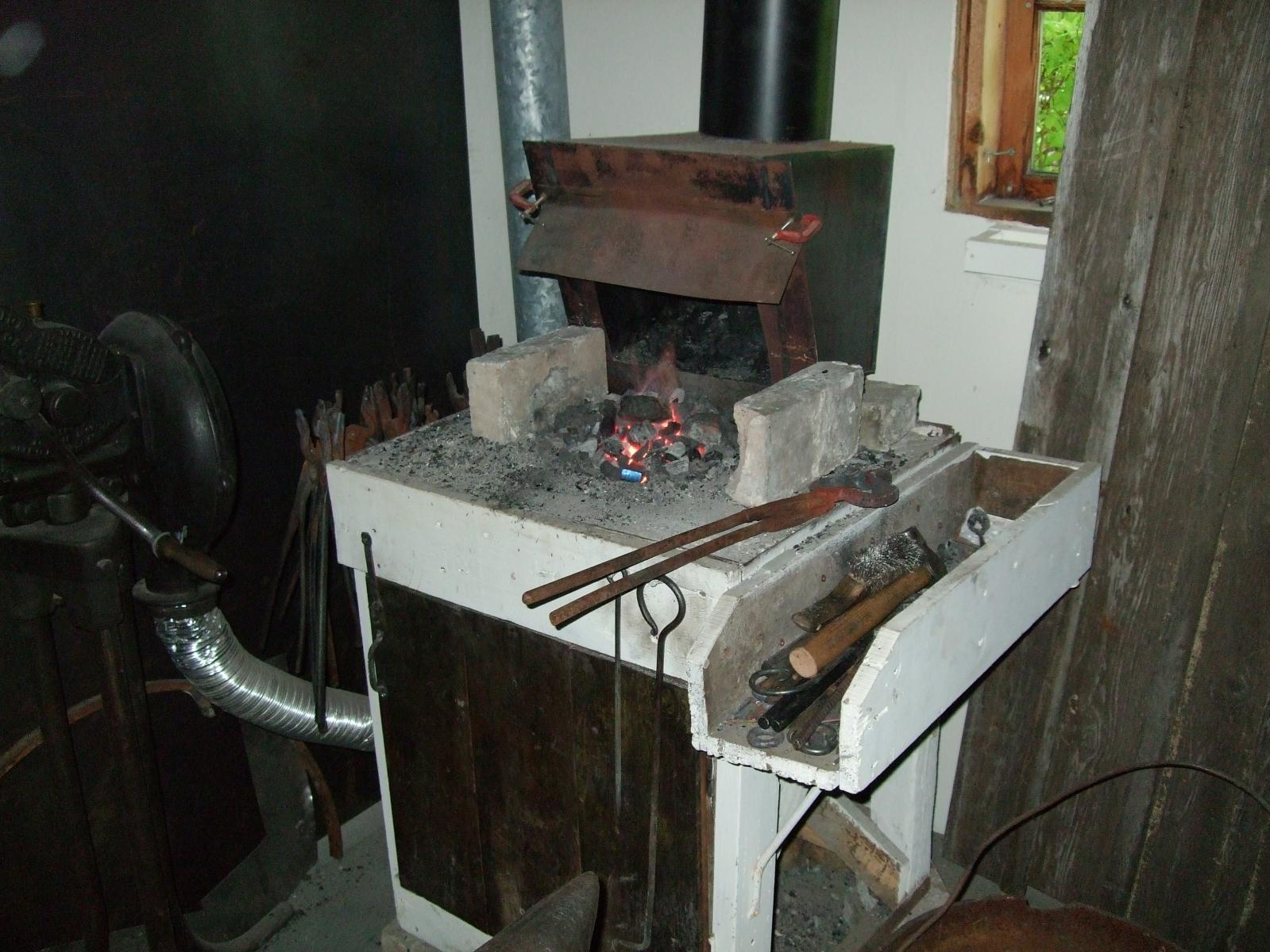 my new anthracite forge