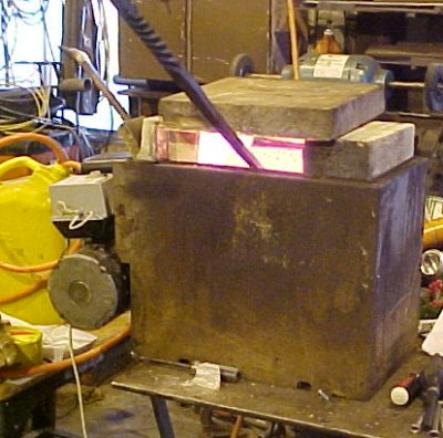 Home built forge