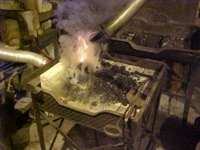 Coalforge's new side blast forge