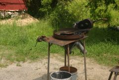Blacksmith Workshop at D Acres Organic Farm and Educational Homestead