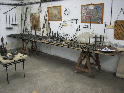 My studio in Israel