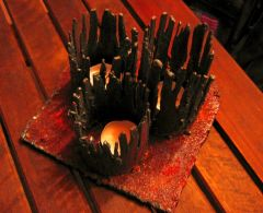 Gothic  candle holder