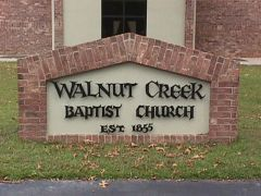 Church sign front