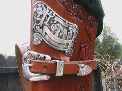 rifle scabbard saddle bag