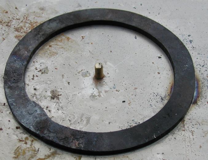 Gear, welded closed