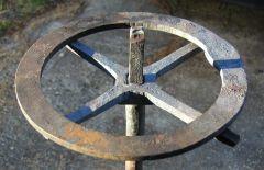 Clock arbor work