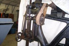 "champion blower & forge - 22"" drill press"