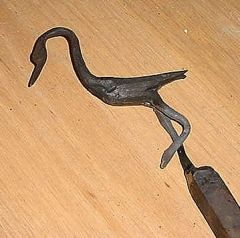 One piece Crane by Bill Epps