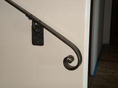 Bottom of handrail