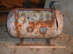 43 gallon propane tank