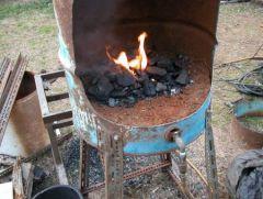 First Fire!