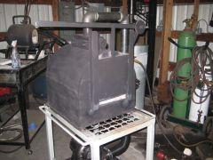 Ribbon Burner Forge