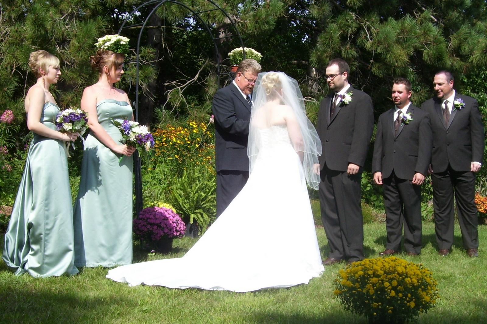 Finnr's Daughter's wedding