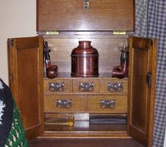 pipe chest interior