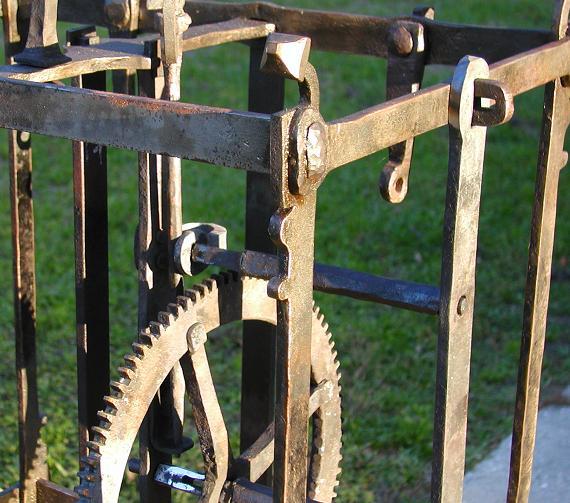 Crown Wheel Arbor.