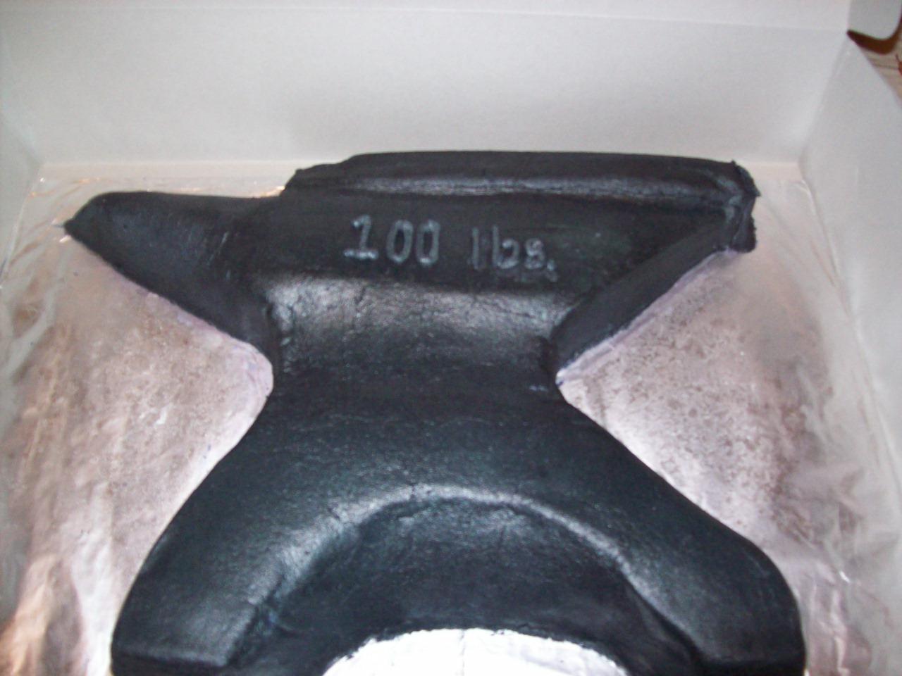 My 15Th Birthday anvil cake