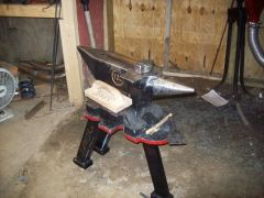MY NEW ANVIL