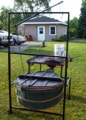 Portable Forge with Bellows