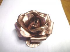Copper Rose for Religious Icon