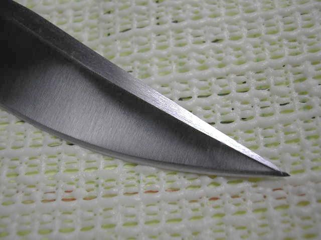 fighter grind to 400 grit mild steel 10 inch wheel