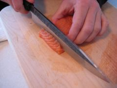 Using the knife