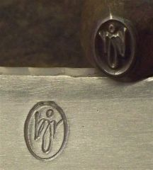 touchmark and stamp