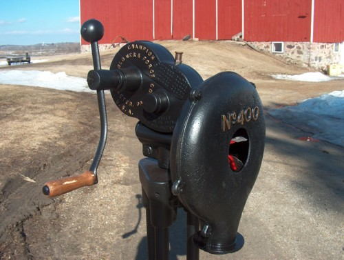 Champion Blower and Forge Co  Model 400 Blower - Members