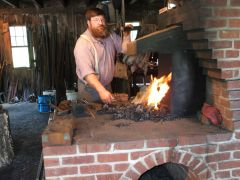 The Colonial brick forge