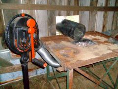 Midway Blower and table forge