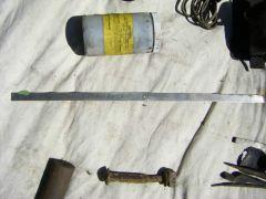 One days find - metal ruler
