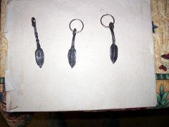 Leaf key fobs