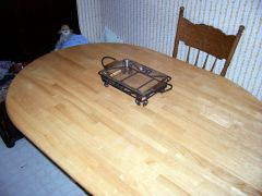 Square casserol dish holder
