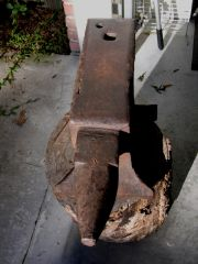 William Foster 212# Anvil Dated 1854