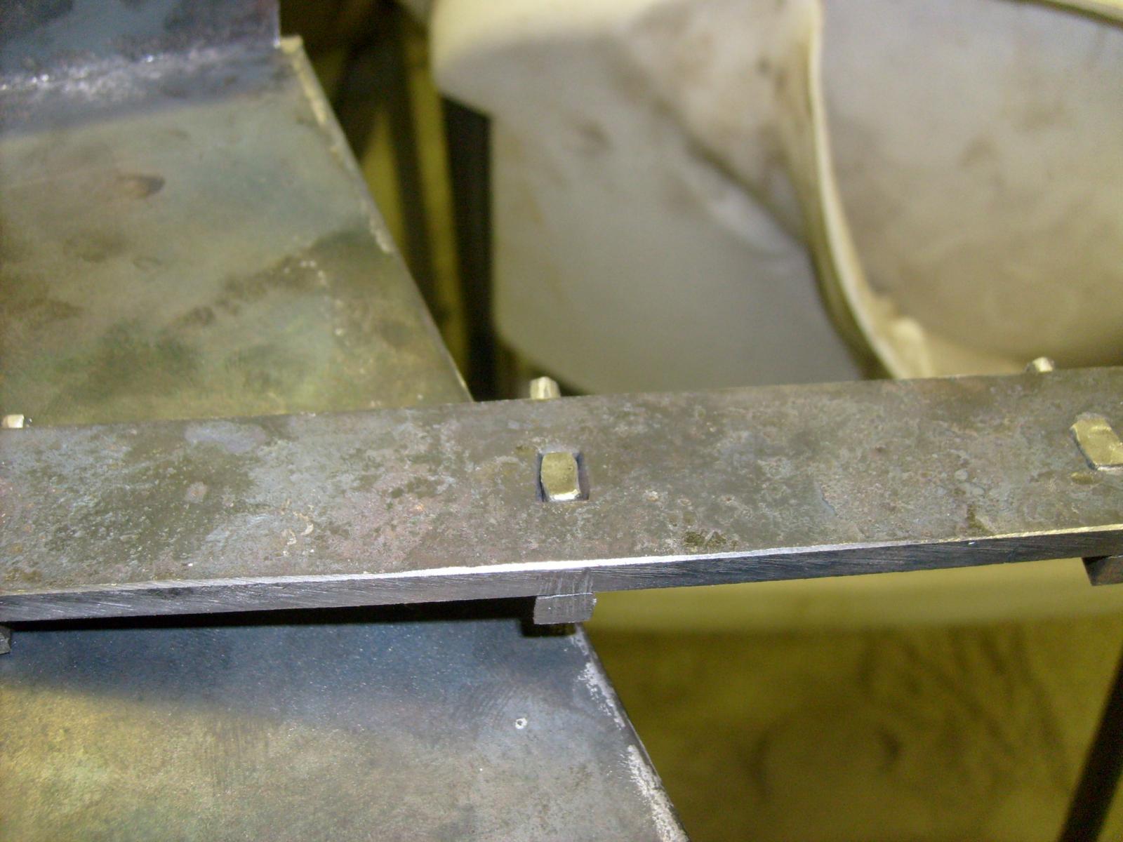 three sided rivet