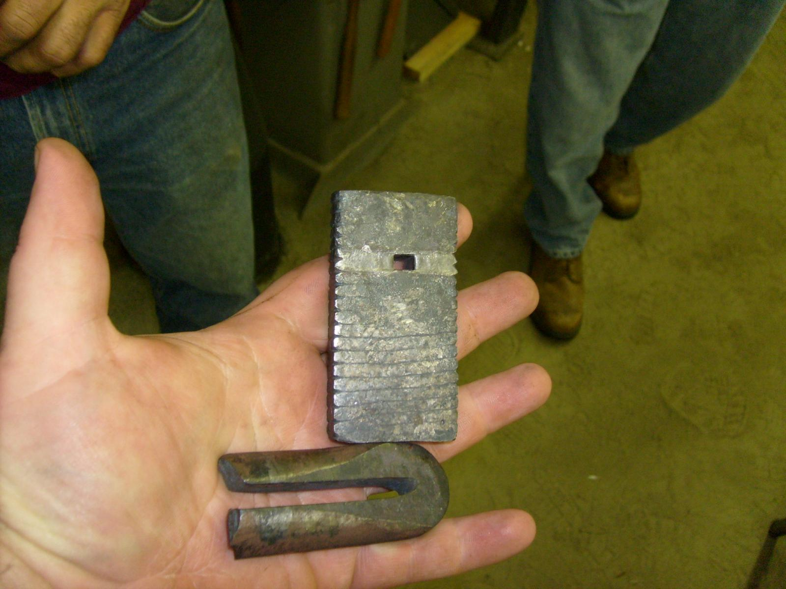 three sided rivet tool