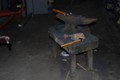 the trusty anvil!