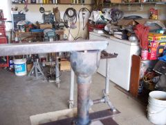 Burner Reducing Bell With MIG welding tip Orfice