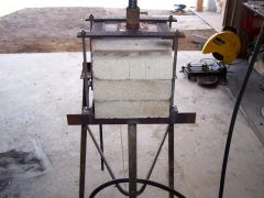 Back of the forge