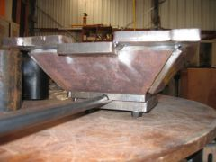 Fire Pot Component - Base Tack Welded