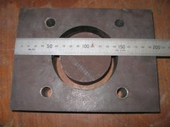 Fire Pot Component - Base with Clinker Breaker