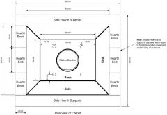 Fire Pot Design - Plan View