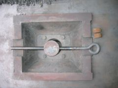 Forged rod for clinker breaker